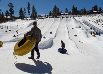 Big Bear Snowplay Sledding