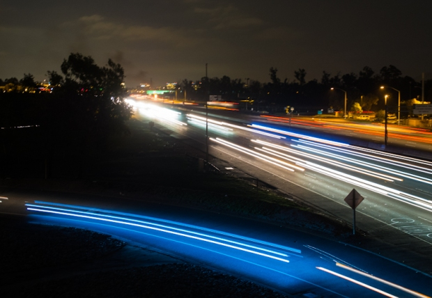 Fun with Lights - Freeway Long Exposure