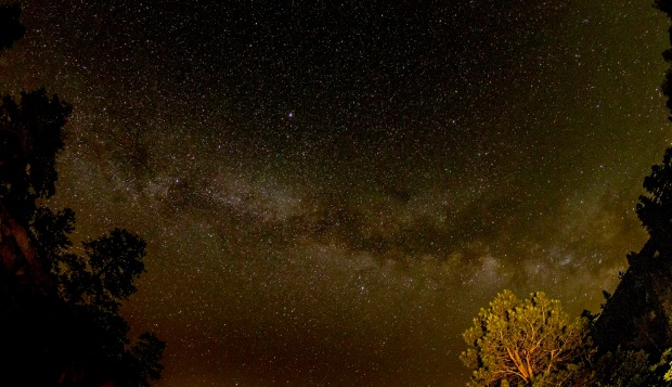 The Milky Way from the Rockies