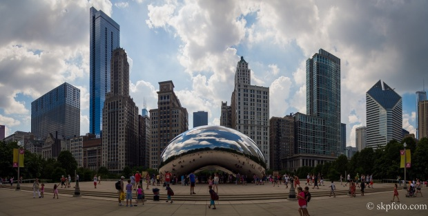 The Cloud Gate, Panorama