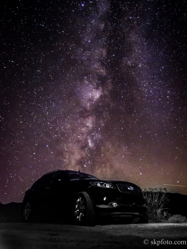My Car Under the Milky Way